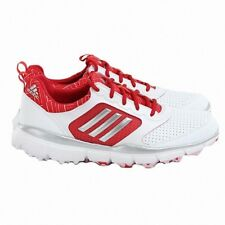NEW WOMEN'S ADIDAS ADISTAR SPORT GOLF SHOES WHITE/RED F33494 -PICK A SIZE