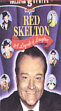Red Skelton - A Legend of Laughter (VHS, 2002, 5-Tape Set)