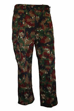 Genuine Swiss Army Issue M83 Pants Alpenflage Camo Combat Trousers