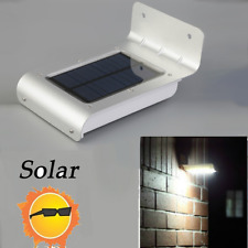 16LED Solar Power Motion Sensor Garden Security Lamp Outdoor Waterproof Light BE