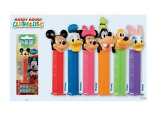 PEZ Mickey Mouse Clubhouse Collection Candy Dispenser + 2 assorted flavor rolls