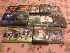 Playstation 3 / PS3 Replacement Cases / CASE ONLY / NO GAME / Free Shipping