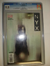 marvel comics nyx #3 cgc 9.8 1st appearance wolverines daughter laura kinney!!