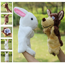 HOT Family Finger Puppet Cloth Doll Baby Educational Cartoon Animal Hand Toy