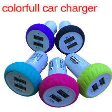 5V 2A 2 Ports Mini USB Car Charger Dual Port Adapter USB Cable Car Charger