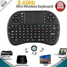Mini Wireless Keyboard 2.4G with Touchpad Handheld Keyboard for PC Android TV BE