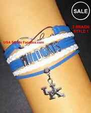 *SALE* Kentucky Wildcats Infinity Genuine Leather Bracelet With Team Logo *SALE*