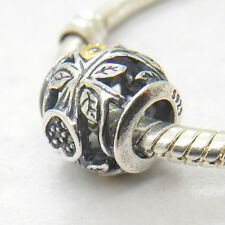 Authentic Genuine S925 Silver TUMBLING LEAVES CHARM Bead