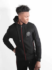 883 Police Mens Oakley Black Regular Fit Hooded Sweat Hoody Hoodie Top