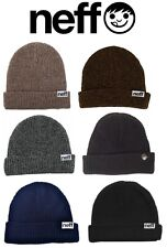 NEFF MEN'S FOLD SNOW / SKI BEANIE, MANY COLORS! BRAND NEW!!