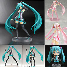 Anime Vocaloid Hatsune Miku /Sakura Mini Action Figure Figurine Manga Collection