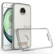 Ultra-thin Transparent Crystal Gel TPU Case Cover Skin For Motorola Moto Z Droid
