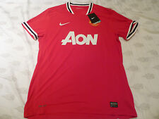 NWT Nike 2011/2012 Manchester United Red Home Jersey (Men Size XL or XXL)