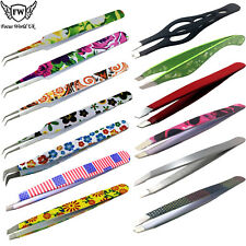 Eyebrow Tweezers, Eyebrows Pointing Tweezer, Professional Beauty Hair Slanted