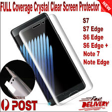 FULL Coverage Crystal Clear Screen Protector For Samsung Galaxy Note7 S6 S7 Edge
