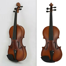 US Student Full Size 4/4 Acoustic Violin with Case&Bow&Rosin Cake&Bridge&Strings