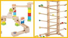 "Marble Run- 2 New Designs: Fast Ride Marble Run ""Gigant"" Tracks Cars- Xmas Gift"