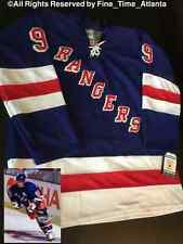 NEW Wayne Gretzky New York Rangers Blue/Home Vintage Fight Strap Jersey Messier