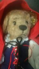 "Little Red Riding Hood 12"" Bear by Annette Funicello Collectable Bear Company"