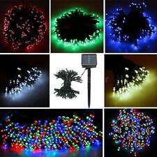 120LED 13M Solar Powered String Light Fairy Christmas Wedding Party Garden L3S1