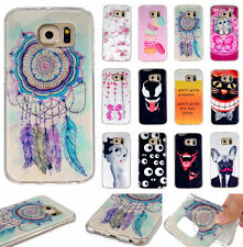 Colorful Pattern Rubber Silicone Gel Soft TPU Back Case Cover For Samsung Galaxy