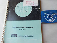 JERROLD 1015 VIDEO SWEEP GENERATOR INSTRUCTION MANUAL