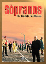 THE SOPRANOS HBO TV SERIES COMPLETE 3RD THREE SEASON 3 4-DISC DVD SET NEW SEALED