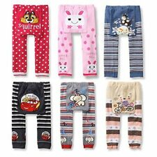 0-24 Month Toddler Infant Cotton Trousers Baby Boys Girls Warm PP Pants Leggings