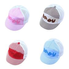 Summer Children Kids Letters Baseball Cap Baby Cap Fashion for Boys Girls BN