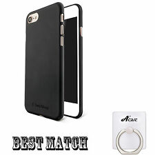 Black Case Cover for iPhone7 7 Plus Transparent Black Protective Silicone New
