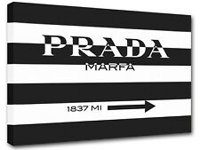 Prada Marfa Gossip Girl sign, painting canvas art, wall art, home decor -04