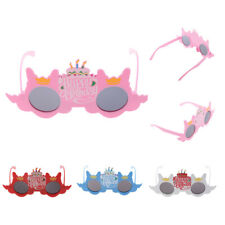 Cake Candles Happy Birthday Novelty Fun Party Sunglasses Fancy Dress Glasses