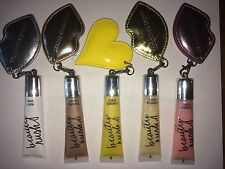 VICTORIAS SECRET BEAUTY RUSH FLAVORED LIP GLOSS WITH KEYCHAIN ASSORTED FLAVORS