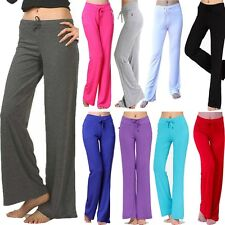 Women Loose YOGA Pants Exercise Fitness Pants Indoor Trousers Athletic Pant -U8