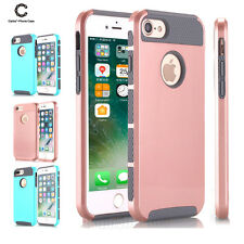 Hybrid Shockproof Rubber Hard Bumper Soft Case Cover For iPhone 6/ 6s/ 7/ 7 Plus