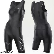 New 2XU Womens G:2 Compression Trisuit Triathlon Suit WT2701D