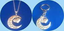 'I Love You to the Moon and Back' UNCLE pendant
