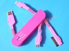 Swiss Knife 3 in 1 USB Data Sync Charger Cable For iPhone iPod iPad All Series