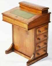 Victorian Walnut Davenport Writing Desk - Free Shipping [PL2722]