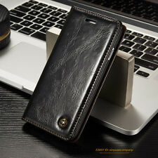 Luxury Magnetic Flip Wallet Leather Stand Case Cover For Apple iPhone Samsung LG