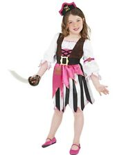 Pink Pirate Girl Fancy Dress Costume Girls Pink Pirate Costumes