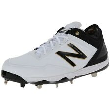 New Balance Men Athletic Shoes Mbbwk Minimus Metal Cleat White