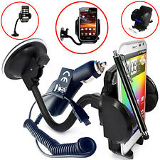 FLEXI WINDSCREEN 360 CAR MOUNT SUCTION HOLDER CRADLE FOR HTC One A9s Mobile Cell