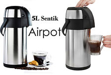 STAINLESS STEEL VACUUM TEA COFFEE POT DOUBLE WALL ISOLATING JUG TRAVEL FLASK New