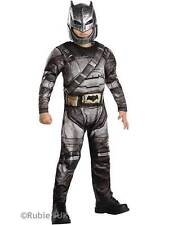 Boys DELUXE BATMAN ARMOUR - DAWN OF JUSTICE Fancy Dress Costume