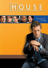 House M.D. (New DVD Set) Complete Second Season Two Hugh Laurie