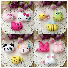 3pcs/lot Plush Cartoon Hair accessories Kids Baby Girls Hair clips Hairpins