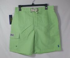 POLO RALPH LAUREN KAILUA MENS SWIM SUIT SHORTS TRUNKS GREEN  -NWT