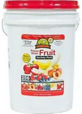 Augason Farms Freeze Dried Fruit Variety Pack - 4 lb 9.6 Oz. NEW Emergency Food