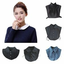 Lady Detachable Peter Pan Lapel Shirt Fake False Collar Choker Necklace 14Types